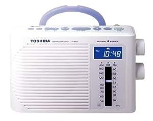TOSHIBA 防水形クロックラジオCUTEBEAT TY-BR30(W)