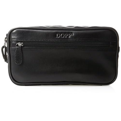 Dopp 06947D Seasoned Traveler Soft Sided Multi-Zip Travel Kit, Black