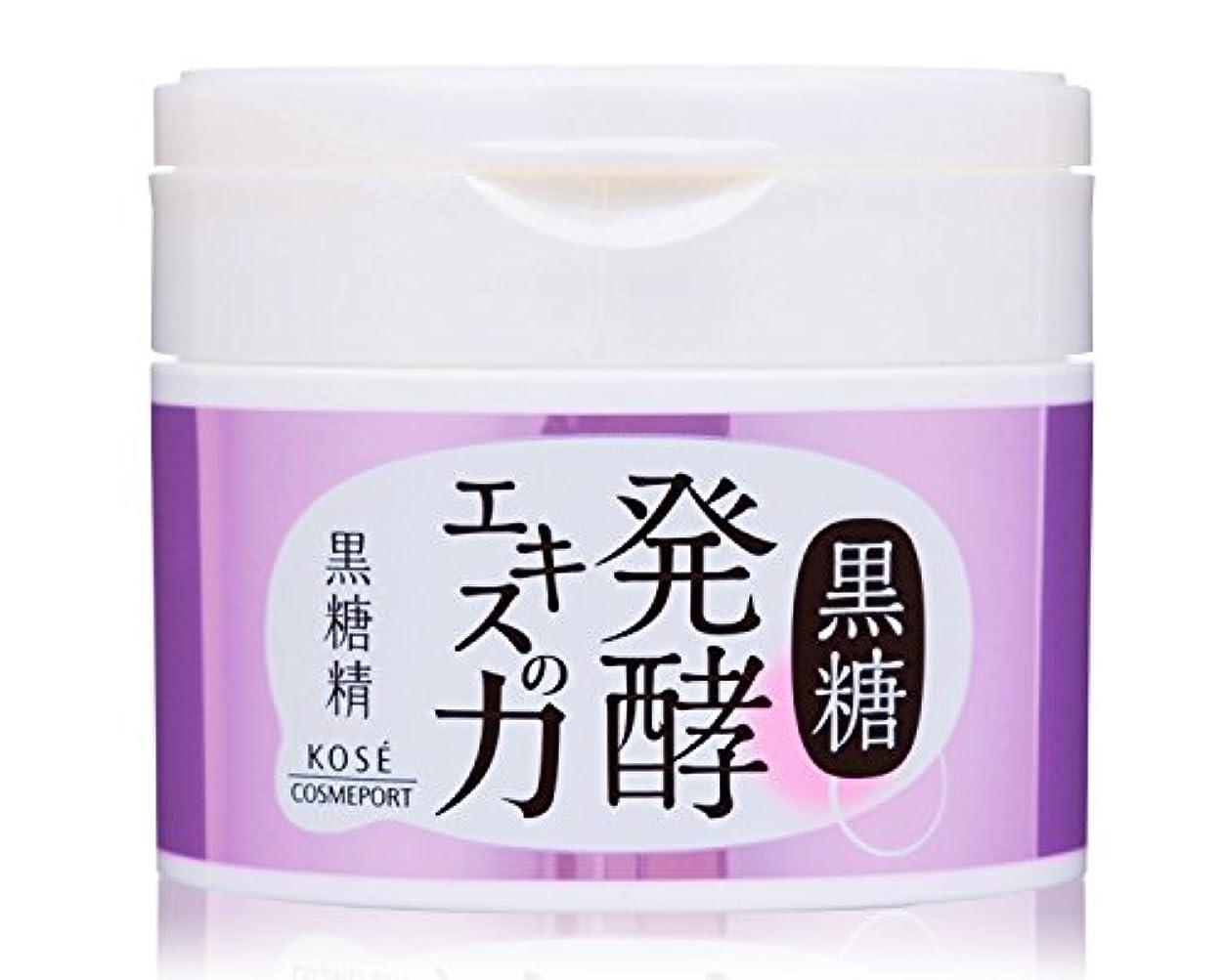 間隔取り替える寛容KOSE コーセー 黒糖精 朝のオールインワンジェル (SPF50+ PA++++) 90g