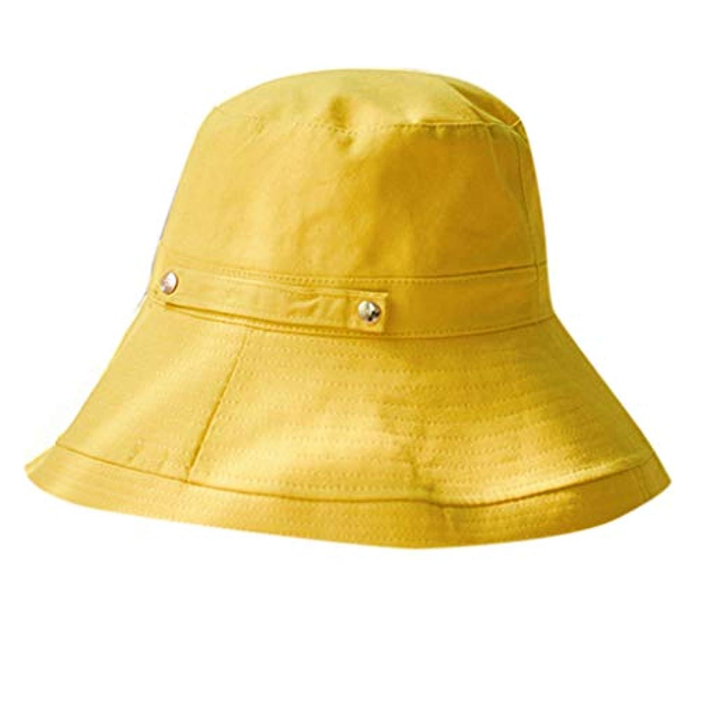 おむしろウィンク女性の春と夏の無地のコットンキャップ 漁師の帽子 漁師帽 UVカット帽子 レディース つば広 ハット アウトドア ファッションビッグバイザー 釣り帽子 漁師キャップ UVカット ハット レディース 日よけ 男女兼用 ROSE...