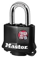 Master Lock(マスターロック) 防塵タイプ南京錠 4本キー 311JAD