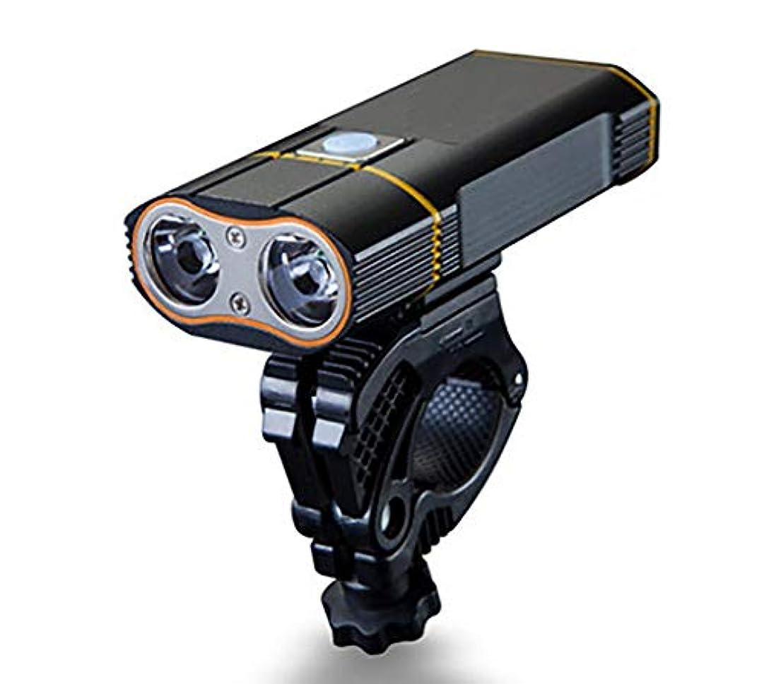 エゴマニア心のこもった香り自転車のライトヘッドライトはマウンテンバイクの自転車のヘッドライトUsbの再充電可能な乗馬の照明を導きました