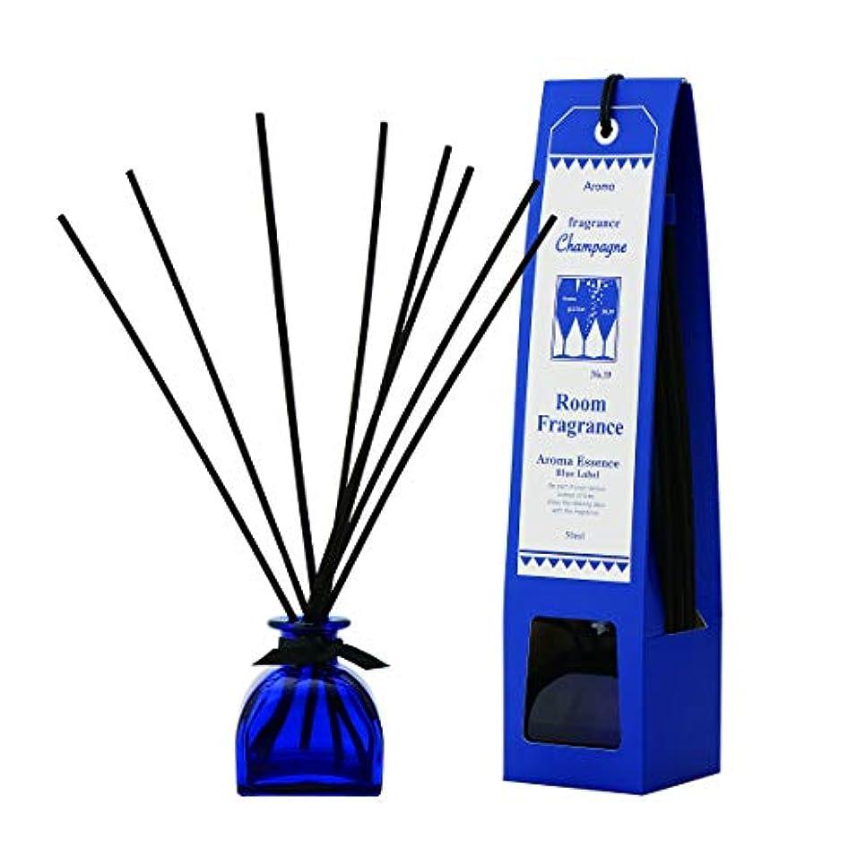 アリ机消費者ブルーラベル ルームフレグランス シャンパン 50ml(芳香剤 リードディフューザー フルーティーですっきりとした香り)