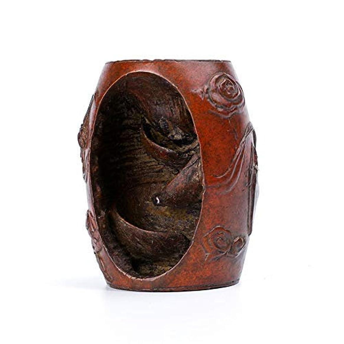 茎レイアウト制限PHILOGOD 香炉 真鍮クリエイティブスタイリング逆流香 倒流香 仏壇用香立て 香皿
