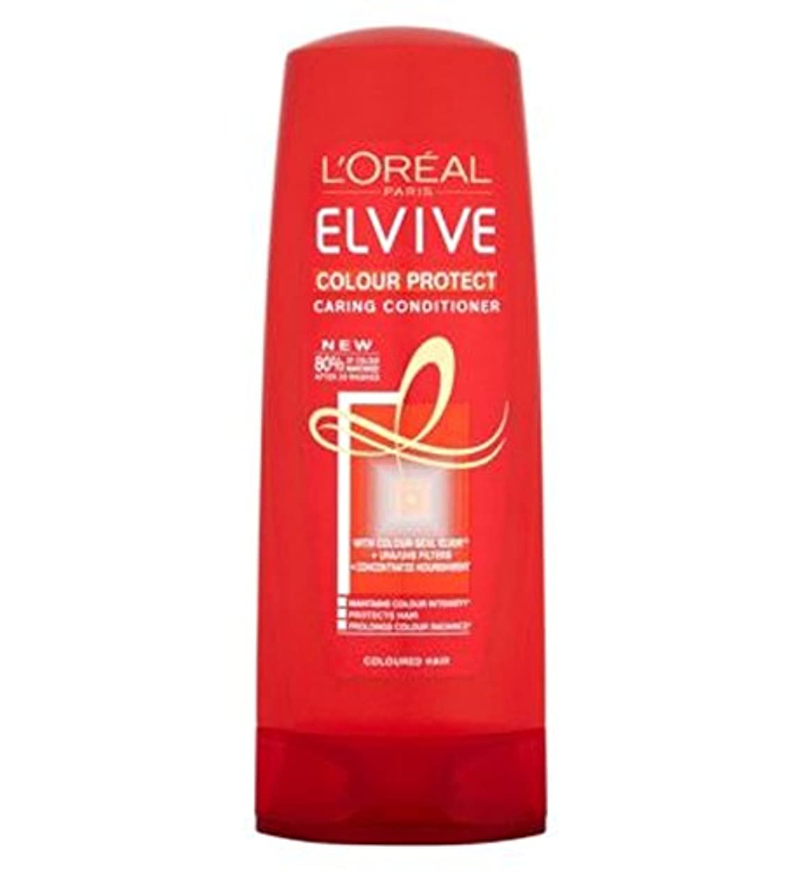 L'Oreall Elvive Colour Protect Conditioner 400ml - L'Oreall Elviveカラーコンディショナー400ミリリットルを保護 (L'Oreal) [並行輸入品]