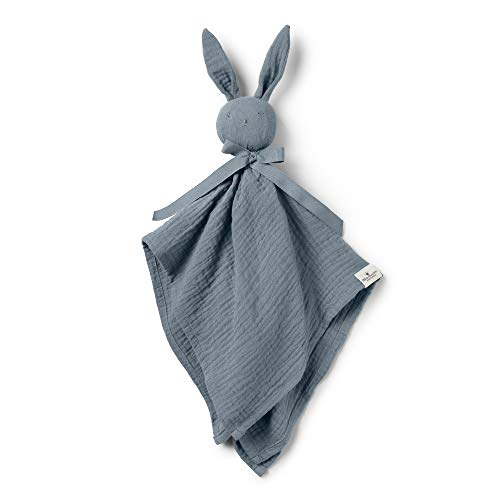 Elodie Details(エロディディティールズ) ブランキー 赤ちゃん ぬいぐるみ タオル ブランケット ぬいぐるみ付きタオル Blinkie Blue 51x 55cm 0か月~