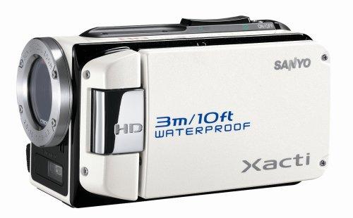 SANYO ハイビジョン 防水デジタルムービーカメラ Xacti (ザクティ) DMX-WH1 ホワイト DMX-WH1(W)