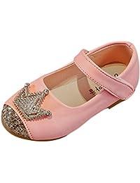 子供シューズ Hosam 幼児シューズ 女の子 メリージェーン 靴 革靴 2-11歳 可愛い おしゃれ 歩く練習