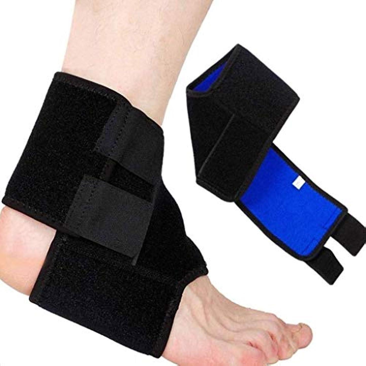 十分韻止まる足首サポート、足首ブレース通気性ナイロン弾性素材スポーツ用足首ラップ、関節痛、捻rain疲労など