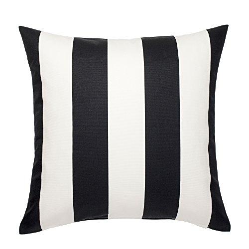 RoomClip商品情報 - IKEA VARGYLLEN 80262026 クッションカバー 50x50cm ホワイト ブラック
