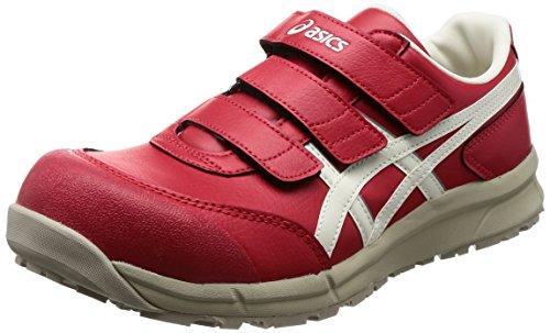 [アシックス] ワーキング 安全靴/作業靴 ウィンジョブ CP301 JSAA A種先芯 耐滑ソール αGEL搭載 プライムレッド/ホワイト 26.0
