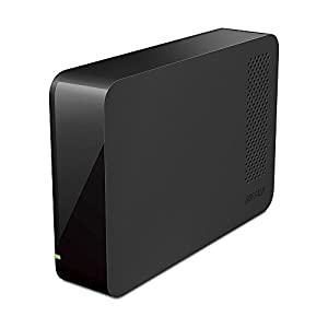 BUFFALO USB3.0 外付けハードディスク PC/家電対応 2TB ブラック HD-LC2.0U3-BKD