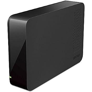 BUFFALO USB3.0用 PC/家電対応 外付けHDD 1TB ブラック HD-LC1.0U3-BKE