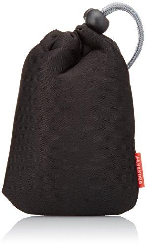 HAKUBA バッグアクセサリー ソフトクッションポーチ S ブラック KC...