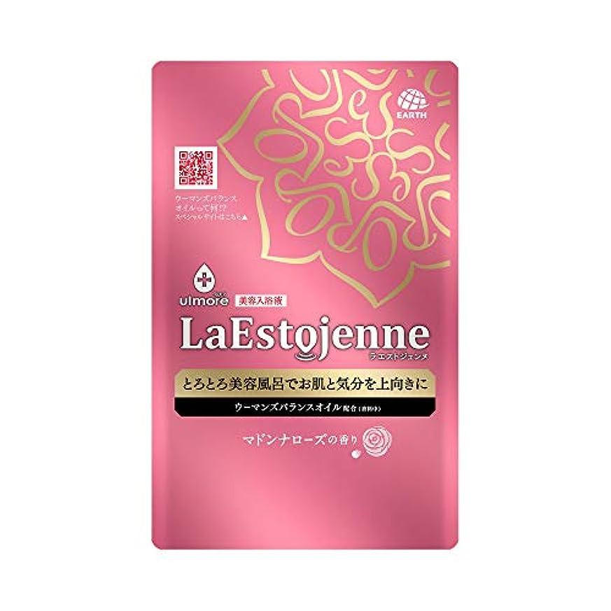 ロープ表示ライセンスウルモア ラエストジェンヌ 入浴剤 マドンナローズの香り [160ml x 1包入り]