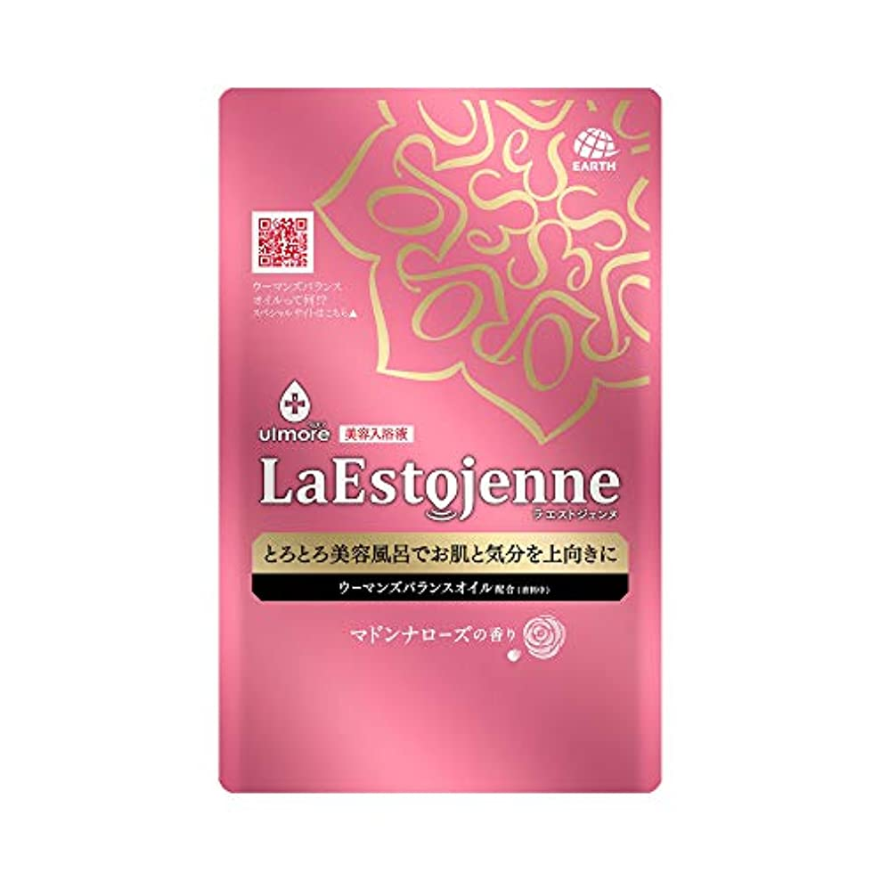 人口当社彼らはウルモア ラエストジェンヌ 入浴剤 マドンナローズの香り [160ml x 1包入り]