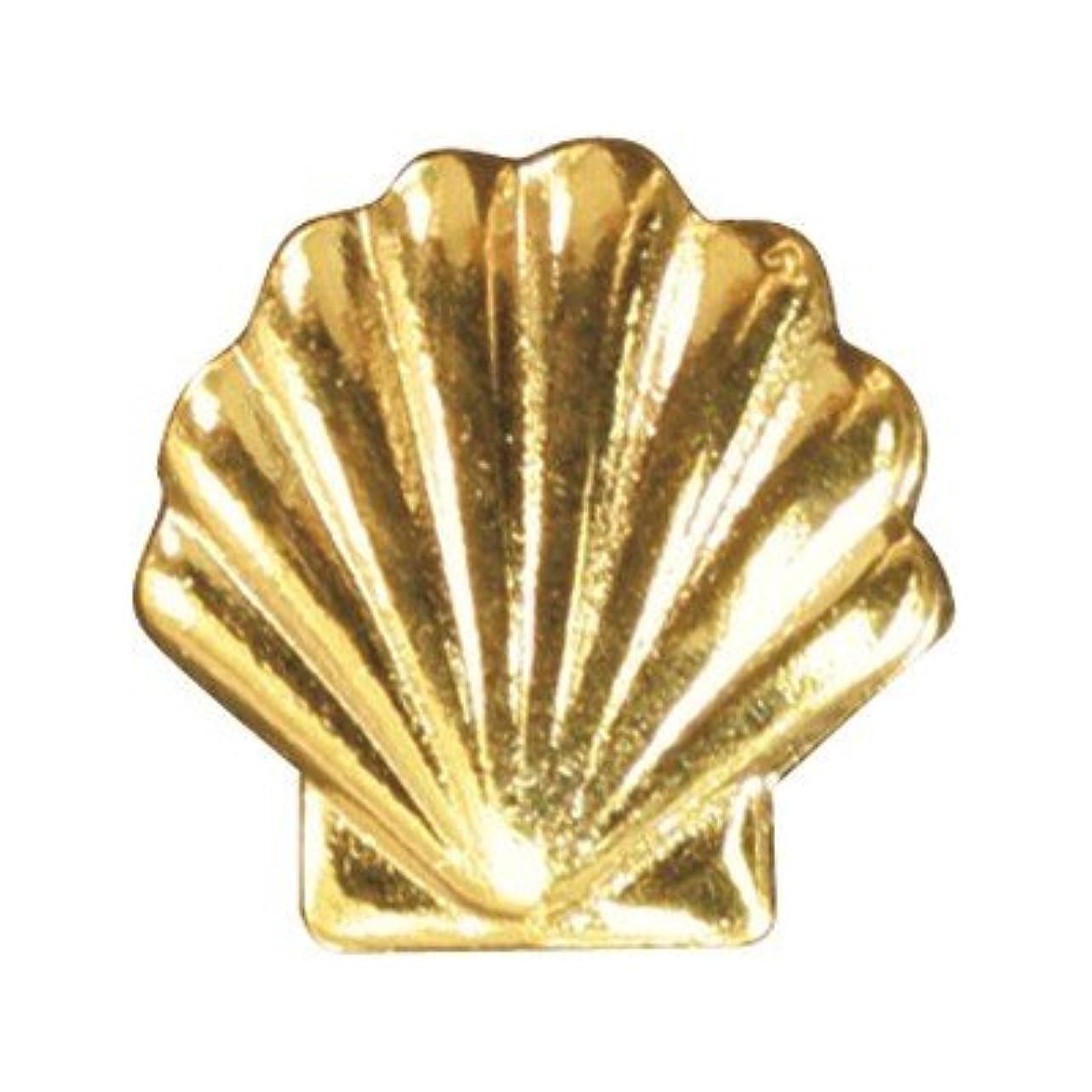 ご意見戸惑うせっかちピアドラ メタルシェル(大)30P ゴールド