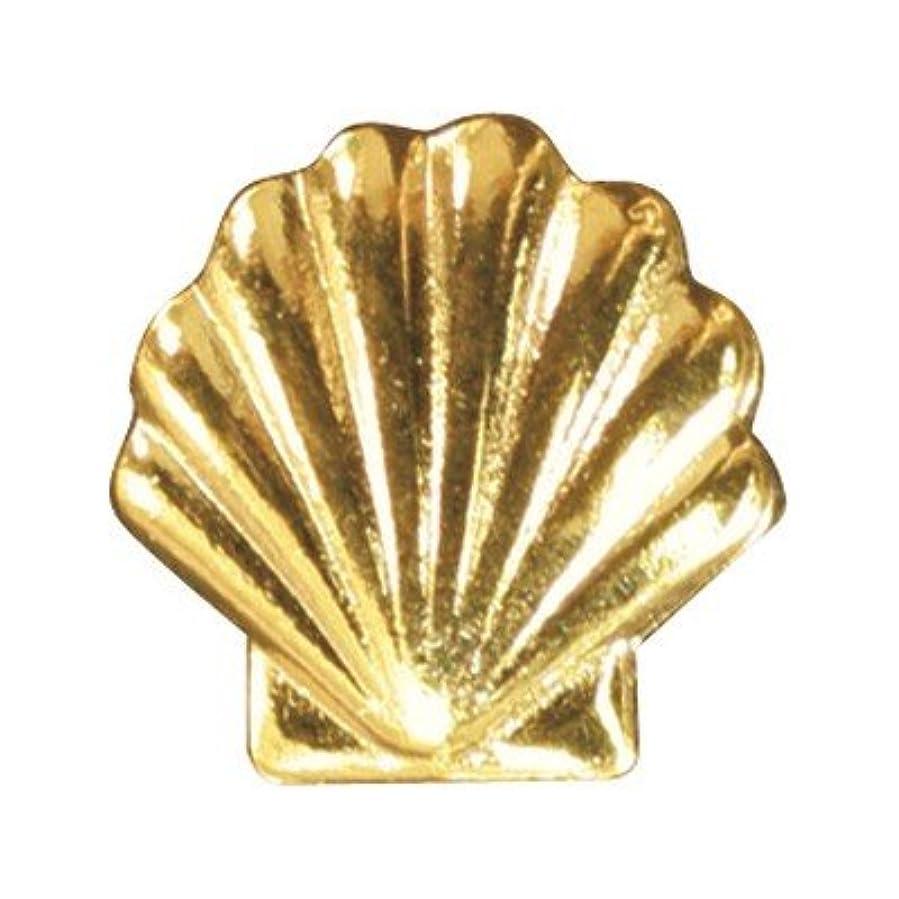 粗い油アナロジーピアドラ メタルシェル(大)30P ゴールド