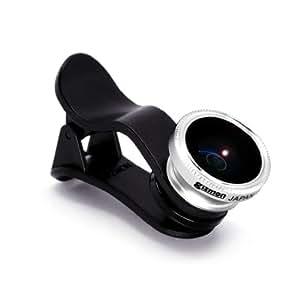 GIZMON Softbank au DoCoMo スマートフォン タブレット クリップ式 魚眼 レンズ GIZMON SMART CLIP FISH EYE 15014