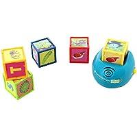 Kidz Delight Smithsonian Kids Dinosaur Cubes - Interactive Dino Cubes w/ 2 Game Modes - 12m+