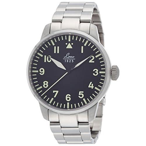 [ラコ]LACO 腕時計 パイロット 自動巻き 5気圧防水 メンズ 861895 ロム メンズ 【正規輸入品】