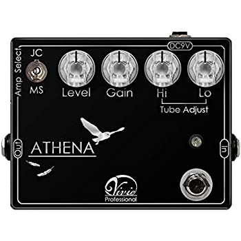 Vivie ATHENA ディストーション ギターエフェクター