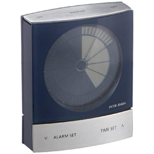 JACOB JENSEN Timer clock Blue BX115B