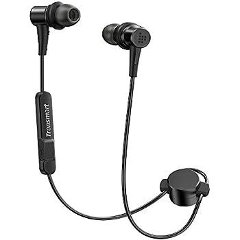 Tronsmart Flair Bluetooth イヤホン 高音質 apt-X/AAC対応 低音強化 IPX6防水 IP5X防塵 マグネット機能 内蔵マイク搭載 12時間連続使用 CVC6.0ノイズキャンセリング スポーツ ブルートゥース イヤホン ワイヤレス Bluetooth ヘッドホン iPhone、Android各種対応