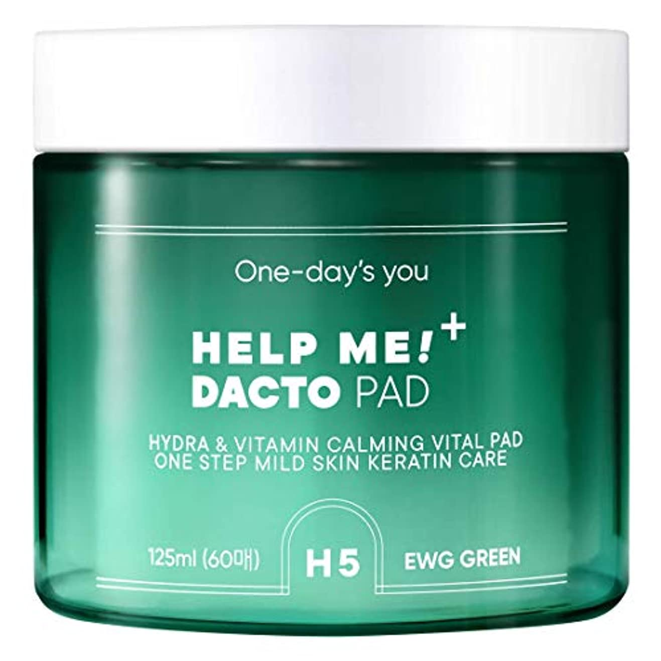 寄付する薬用クールOne day's you [ワンデイズユー ] ヘルプ ミー 拭き取り トナー パッド/HELP ME DACTO PAD (60枚) [並行輸入品]