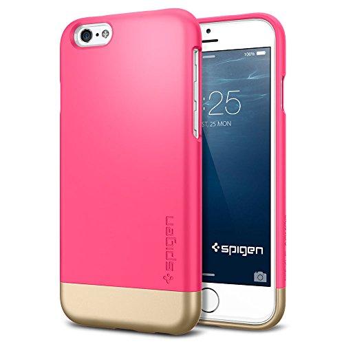 iPhone 6 ケース, Spigen® [ スタイリッシュ  カバー ] スタイル アーマー Apple iPhone 4.7 (2014) The New iPhone アイフォン6 (国内正規品) (アザレア・ピンク 【SGP11045】)