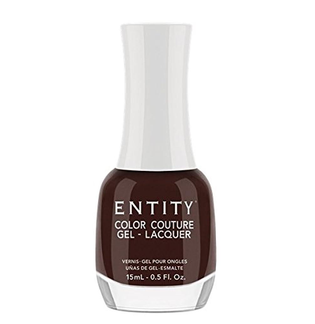 病気だと思う半導体シェードEntity Color Couture Gel-Lacquer - Leather and Lace - 15 ml/0.5 oz