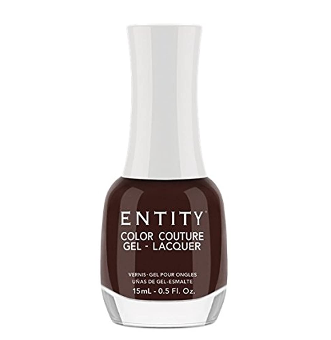 援助セマフォ評決Entity Color Couture Gel-Lacquer - Leather and Lace - 15 ml/0.5 oz