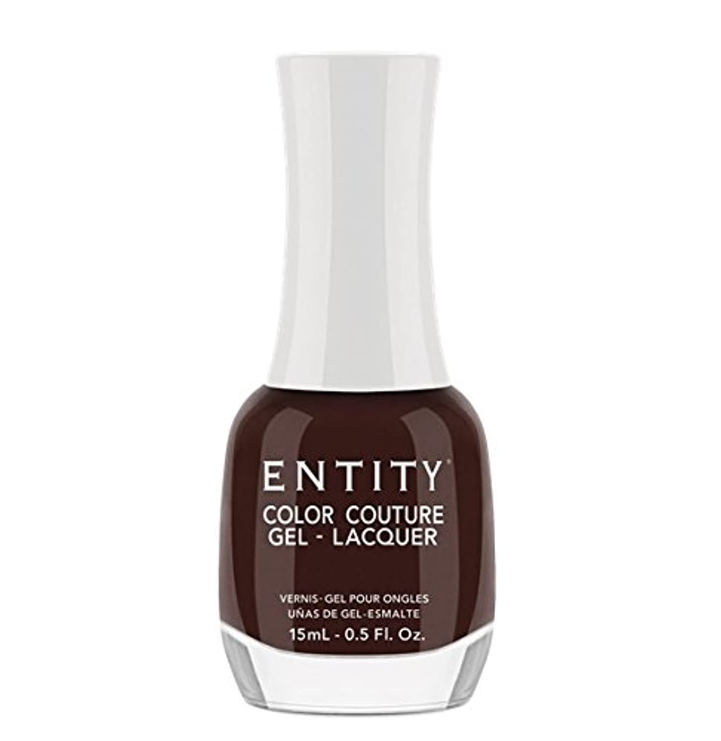 追加する急降下見えないEntity Color Couture Gel-Lacquer - Leather and Lace - 15 ml/0.5 oz