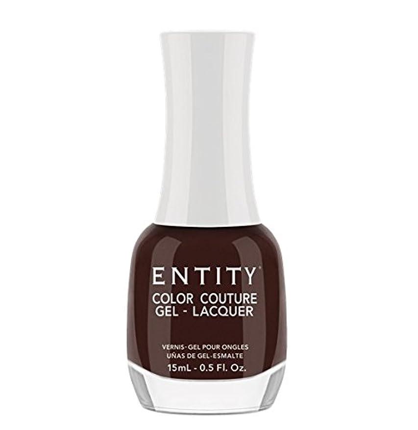 規制叙情的な債務者Entity Color Couture Gel-Lacquer - Leather and Lace - 15 ml/0.5 oz