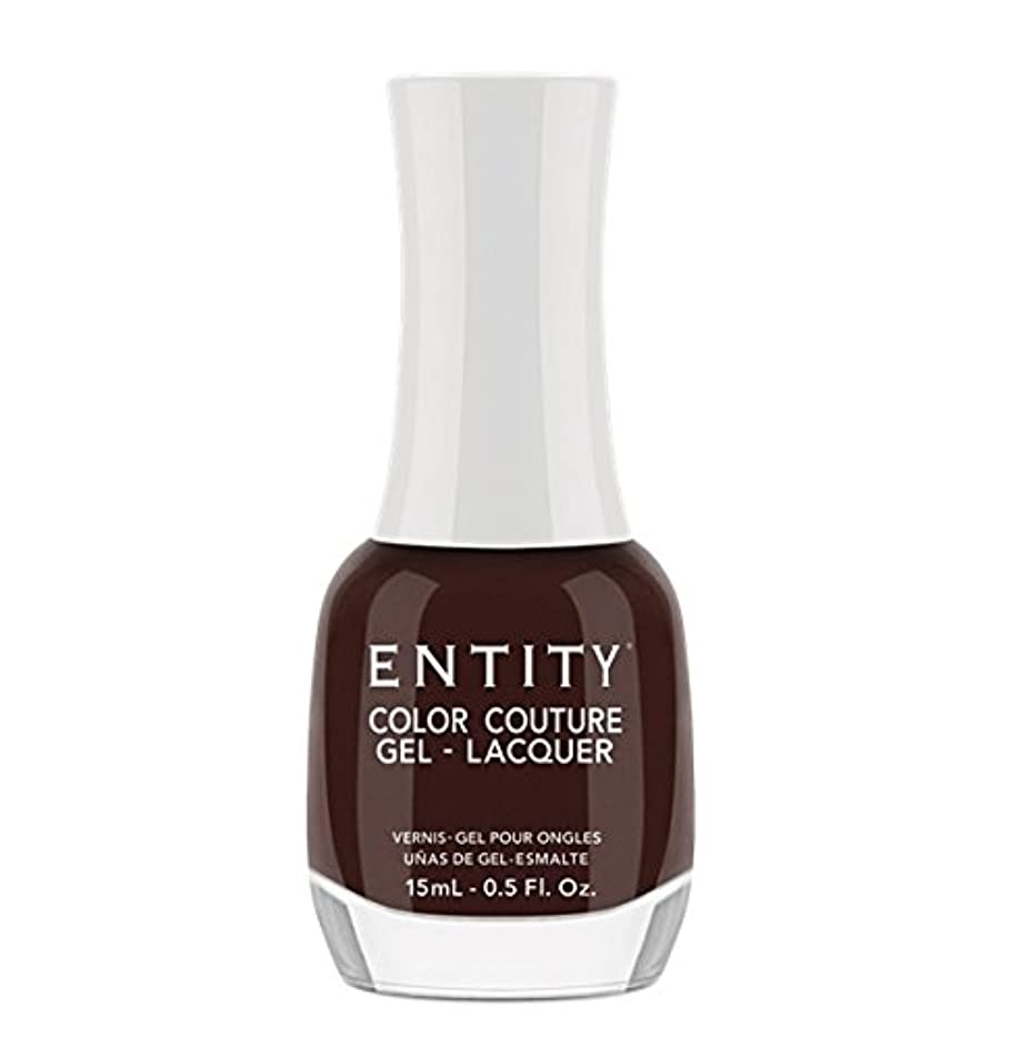お客様もっともらしい飛行場Entity Color Couture Gel-Lacquer - Leather and Lace - 15 ml/0.5 oz