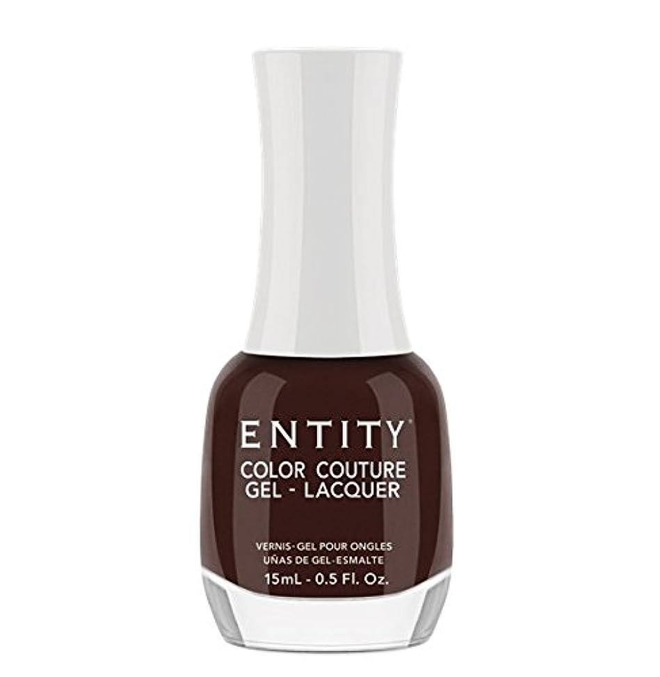 モーターおしゃれな講堂Entity Color Couture Gel-Lacquer - Leather and Lace - 15 ml/0.5 oz