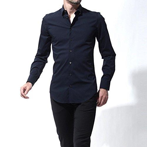 (ジョルジオアルマーニ) GIORGIO ARMANI スナップダウンシャツ/ワイシャツ [並行輸入品]