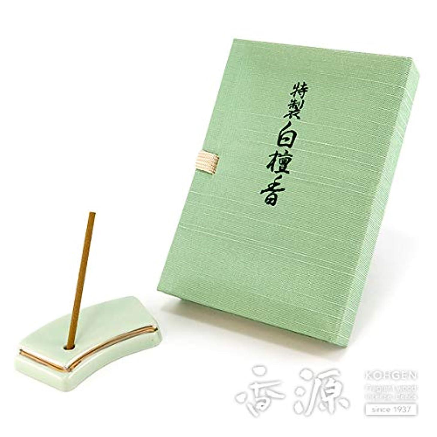 の頭の上方法敬意日本香堂のお香 特製白檀香 スティックミニ寸文庫型 60本入り