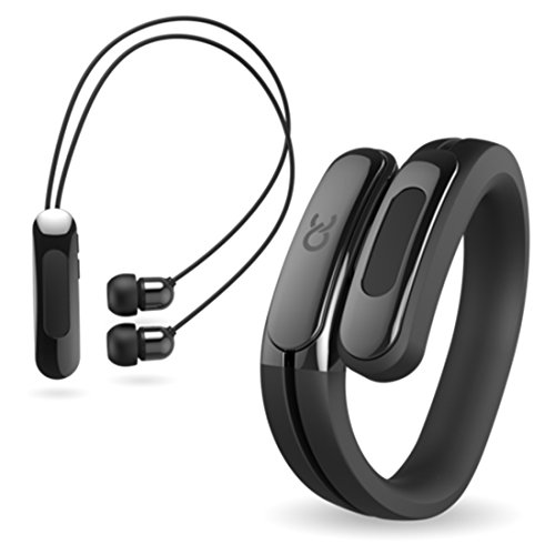 Helix Wearable Cuff with Bluetooth Headphones