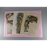 BiblioArt Post Card Series 額絵3枚セット「絵本の挿絵ー1 」(サービス品)