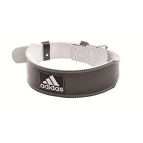 adidas(アディダス) 牛革レザーウエイトリフティング ベルト M ADGB-12234