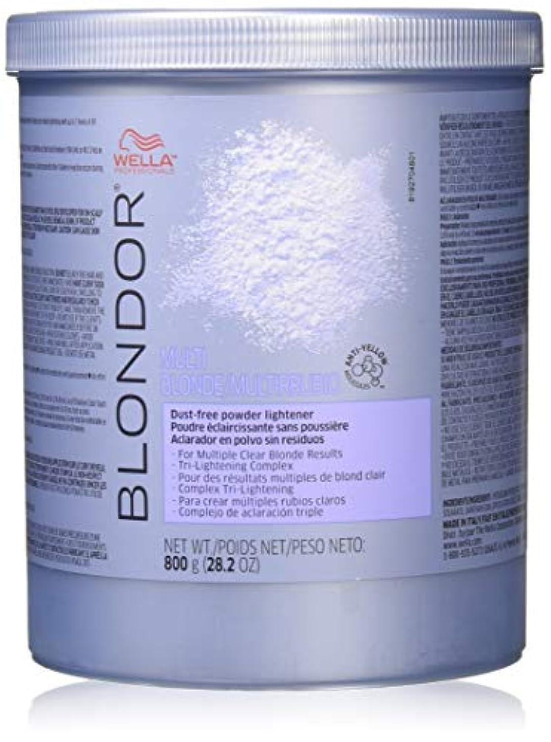 タバコ雲範囲Wella Blondor Multi Blonde Powder Lightener By Wella for Women - 28.2 Ounce Lightener, 28.2 Ounce 141[並行輸入]