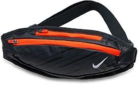 ウエストバッグ ランナーポーチ ランニング用 ジョギング用 ウォーキング用 ナイキ/スモール キャパシティ ウエストバッグ RN8021 (078-アンスラサイト/ブラック)