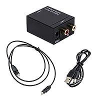 アナログ→デジタル音声コンバーター アナログ音声をS/PDIFデジタル変換 ハイレゾ対応 ADコンバーター コンパクトサイズ 同軸/光ケーブル出力両対応 USB給電式 FMTA2DSET2