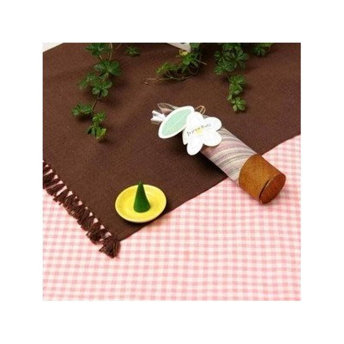 お香/インセンス 〔ロータスの香り コーンタイプ10個入り〕 バリ島製 「Jupen Bari/ジュプンバリ」[通販用梱包品]