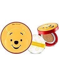 新商品Disneyコラボ[ザ・フェイスショップ] The Face Shop CCクーリングクッション-プー SPF42PA+++(15g) The Faceshop Disney Collaboration CC Cooling Cushion-Pooh SPF42PA+++(15g) [海外直送品] (V103 ピュアベージュ)