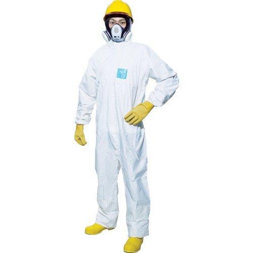 シゲマツ 使い捨て化学防護服MG2000P 10着入り MG2000PXXL_8730