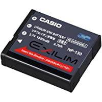 CASIO EXILIM エクシリム デジタルカメラ用リチウムイオン充電池 EX-ZR100 ZR200 ZR300 ZR400 ZR700 ZR1000 FC300S用 NP-130