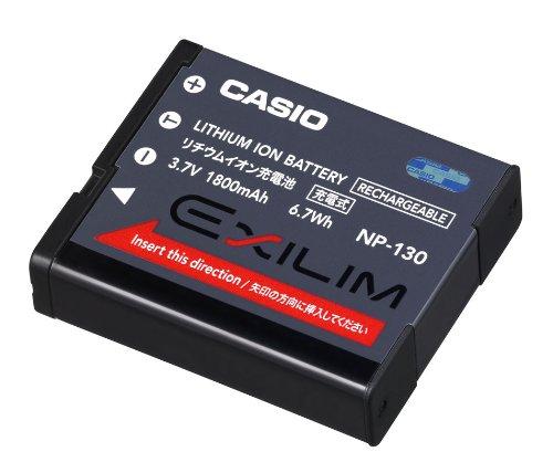 カシオ デジタルカメラ用 リチウムイオン充電池 NP-130
