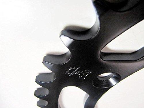 JT Sprockets ブラックスプロケット リア用46T■KLX250 Dトラッカー/X KDX200/KDX220/KDX250 スーパーシェルパ KX125 KX250 KX250F JTR460.46T